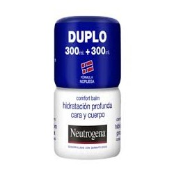 Neutrogena comfort balm hidratación profunda cara y cuerpo duplo 2 x 300 ml