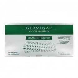 Germinal acción profunda colágeno y elastina 30 ampollas monodosis