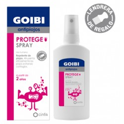 Goibi protege spray antipiojos 125 ml + lendrera