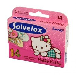 Salvelox tiritas Hello kitty 14 Uds.