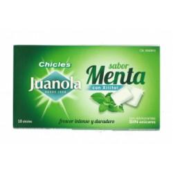 Juanola chicles sabor menta 10 unidades