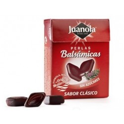 Juanola perlas balsámicas sabor clásico sin azucar 25 gramos