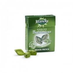Juanola perlas balsámicas sabor menta fresca sin azucar 25 gramos