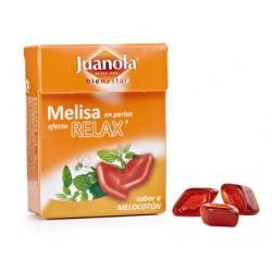 Juanola perlas balsámicas sabor melisa efecto relax sin azucar 25 gramos