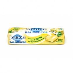 Juanola caramelos bálsamicos sabor limón con hiervas mediterraneas
