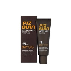 Piz buin ultra light fluido facial toque seco 15 SPF