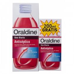 Oraldine antiséptico colutorio 400 ml + 200 ml