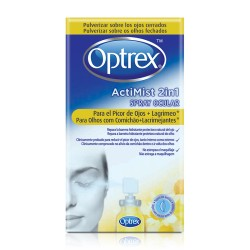 Optrex spray ocular 2 en 1 picor de ojos + lagrimeo 10 ml