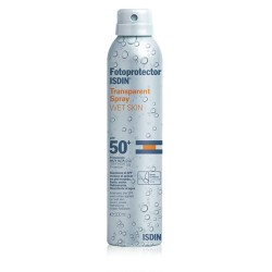 Isdin Fotoprotector  transparent spray wet skin 50+  200 ml