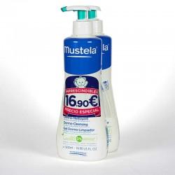 Mustela gel dermo-limpiador 2x500 ml