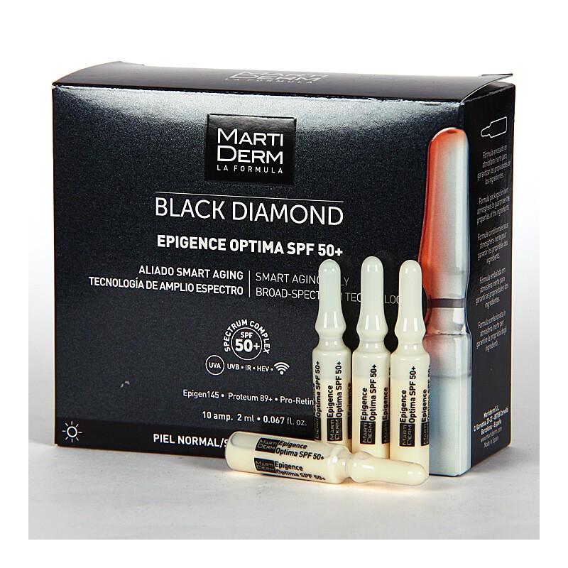2ed927ecf Martiderm Epigence Optima SPF 50+ Black Diamond 30 Ampollas. Loading zoom