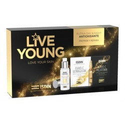 ISDIN Pack Live Young Age Repair + Ampollas Ultraglicanos Isdin