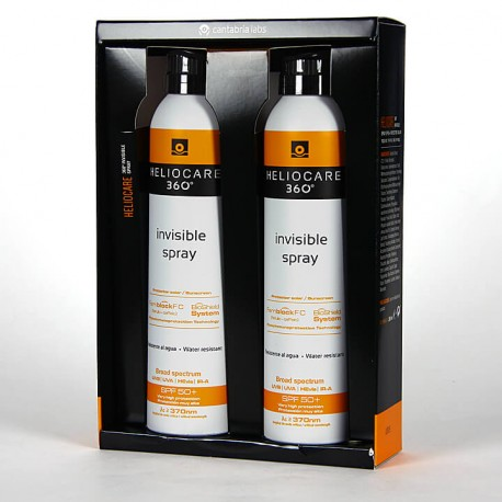 Heliocare 360º Spray Invisible SPF 50 Pack Duplo