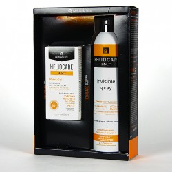 Heliocare 360º Water Gel SPF 50+ 50 ml + Spray Invisible SPF 50 200 ml Pack