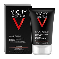 Vichy homme sensi baume, after shave balsamo 75 ml