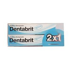 Dentabrit pasta dentífrica blanqueadora 2x125 ml